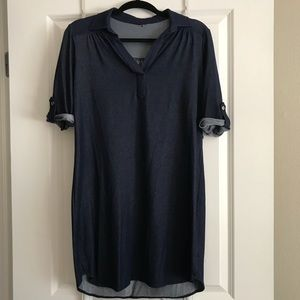 Dresses & Skirts - BOGO FREE! Denim-Looking Dress (Very Soft)